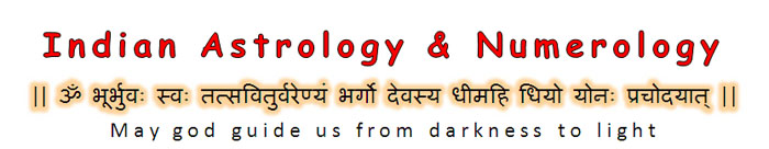 Indian Astrology and Numerology by Shalini Aggarwal