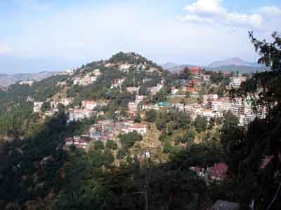 shimla panoramic view