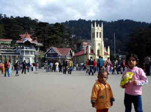 photo of the ridge shimla