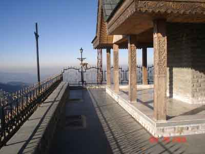 picture of Taradevi temple shoghi shimla