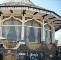 Himachal tourism goofa restaurant, the ridge shimla