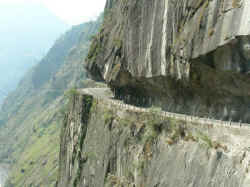 national highway no 22 in Kinnaur district Himachal Pradesh