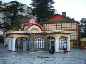 kalibari temple in Shimla