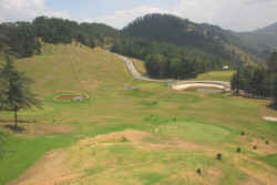 The Nalderha golf course near Shimla