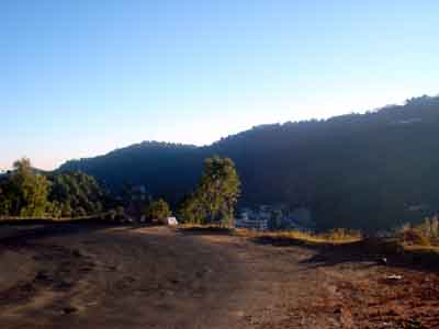 the highway from Ambala to Shimla