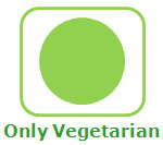 Vegetarian food only